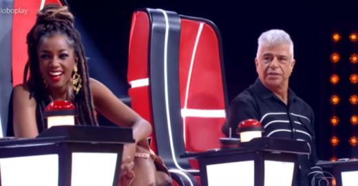Após cantor escolher Iza, Lulu Santos pede volta de Brown no The Voice