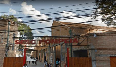 fachada do sesc pompeia que participa da jornada do patrimônio 2019