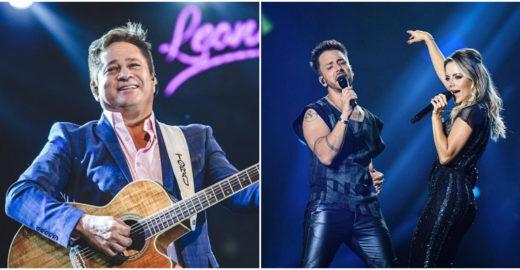 Leonardo critica show de Sandy e Junior no 'Altas Horas'
