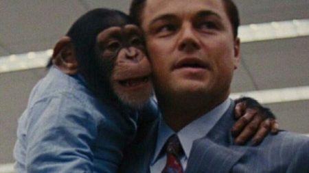 cena do filme O Lobo de Wall Street