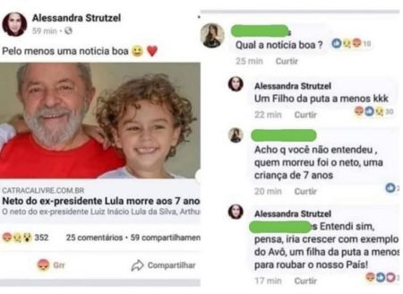 Lula processo morte neto