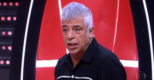 """Candidata canta palavrão no """"The Voice"""" e Lulu Santos se empolga"""