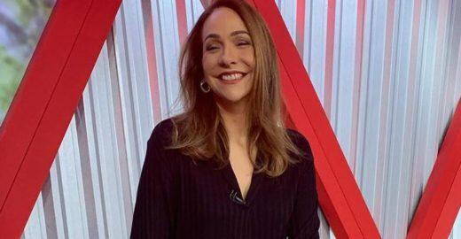 Maria Beltrão é flagrada rebolando ao vivo na GloboNews