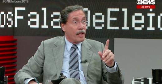 Bolsonaro diz que jornalista da Globo recebeu R$ 375 mil do Senac