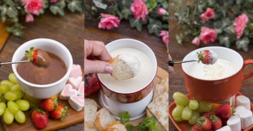 3 receitas de fondue fáceis e baratas feitas no micro-ondas