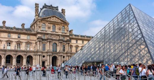 Ingressos para o Museu do Louvre serão vendidos apenas pela internet