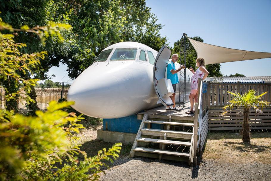 Hoje, o avião é muito mais do que um meio de transporte para sua viagem. Ele agora pode ser o destino
