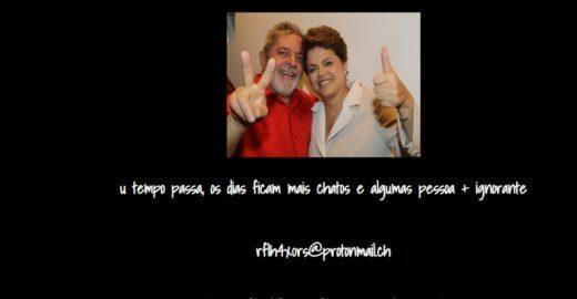 Hacker invade site do PSDB e publica foto de Dilma e Lula