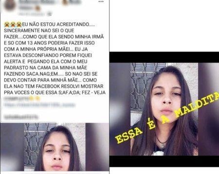 fotos adolescente morta fake news