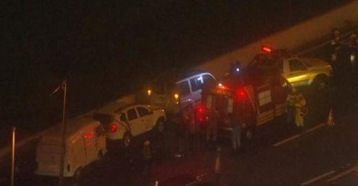 Repórteres de SBT e Record quase são atropelados em novo acidente