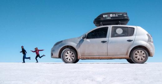 Casal gaúcho viaja de carro 1.0 pela América do Sul