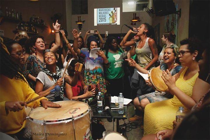 Samba Negras em Marcha