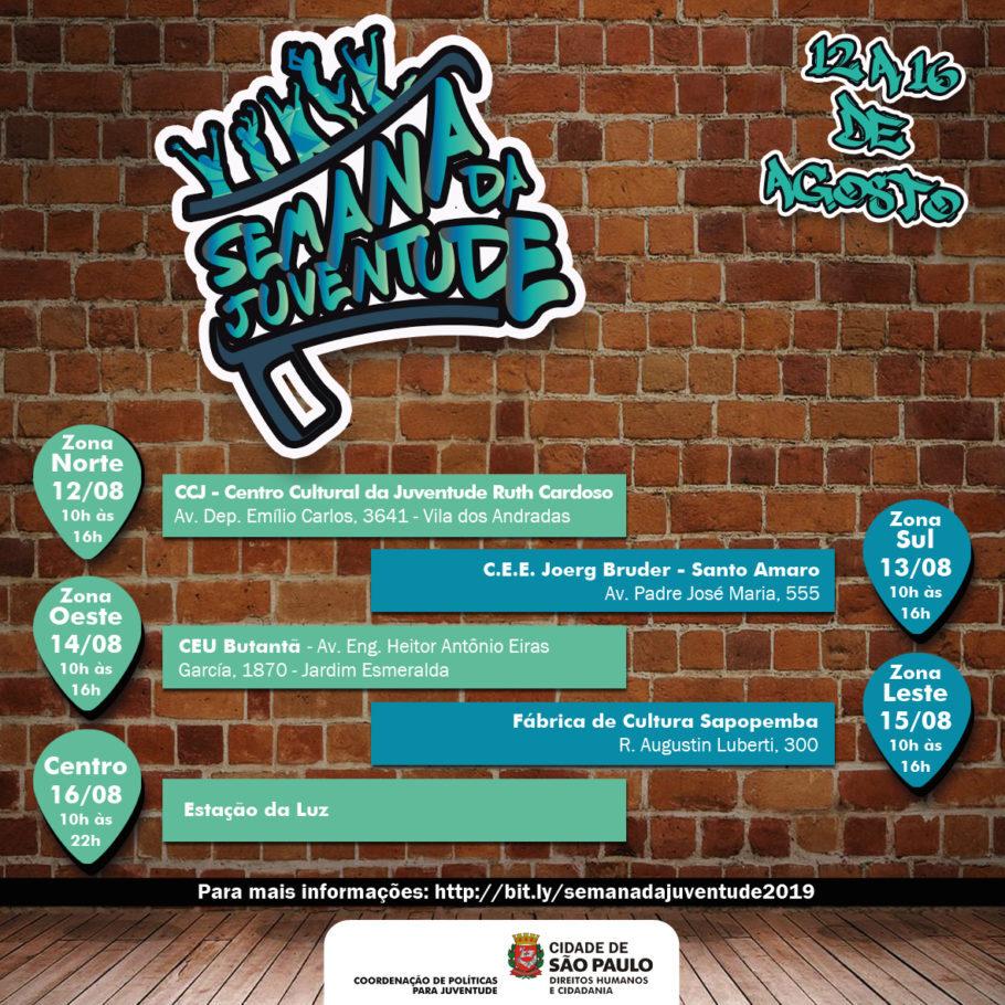 cartaz da Semana da Juventude