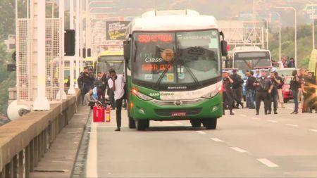 ônibus ponte rio-niteroi