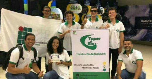 Estudantes do MT criam fralda biodegradável à base de mandioca