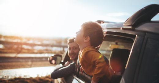 Como preparar uma viagem de carro com crianças