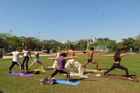 Yoga é um dos destaques da Feira Vegana do ABC