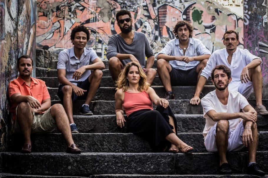 Alice Passos e a roda Jequitibá do Samba