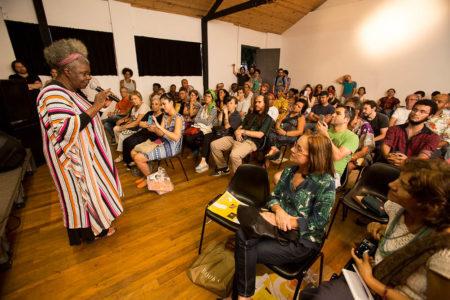 Conceição Evaristo palestra na balada literária em 2015
