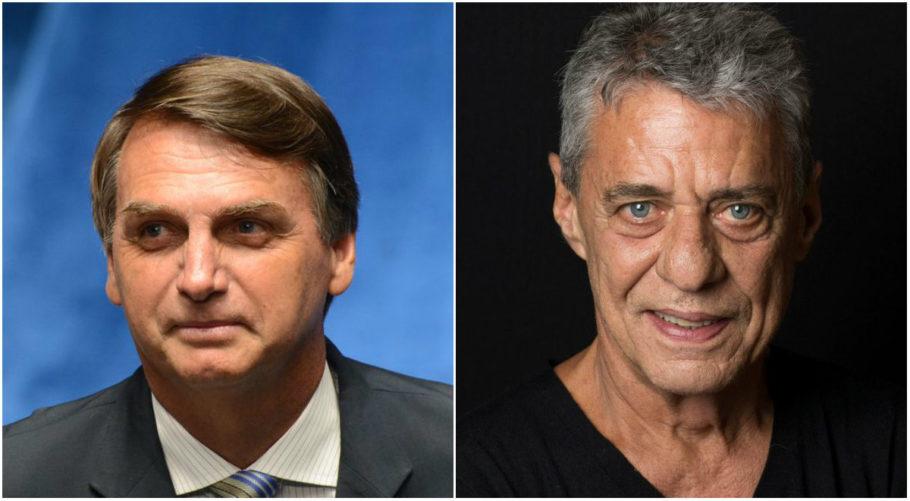 Bolsonaro e Chico Buarque