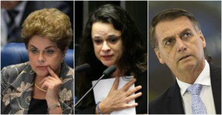 janaina paschoal dilma Bolsonaro pedaladas