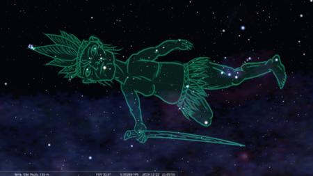 constelação indígena A3 homem velho