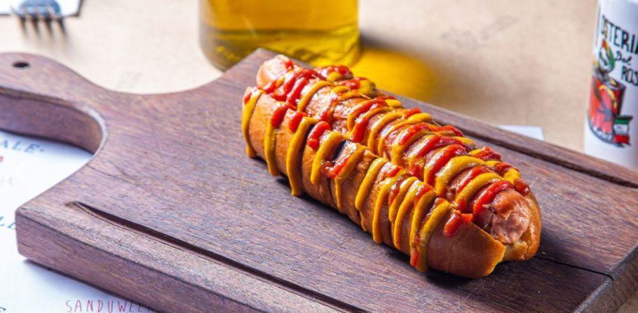 Hot dog, do Osteria Del Rosso