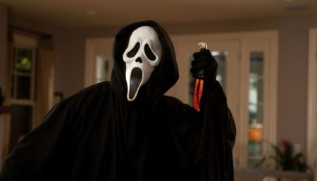 ghostface da trilogia pânico de wes craven