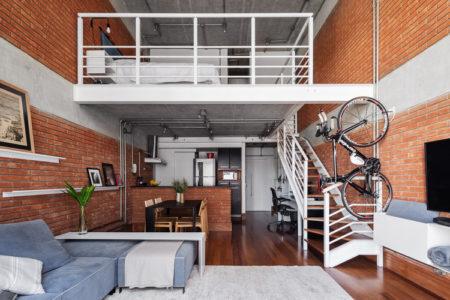 casa com móveis