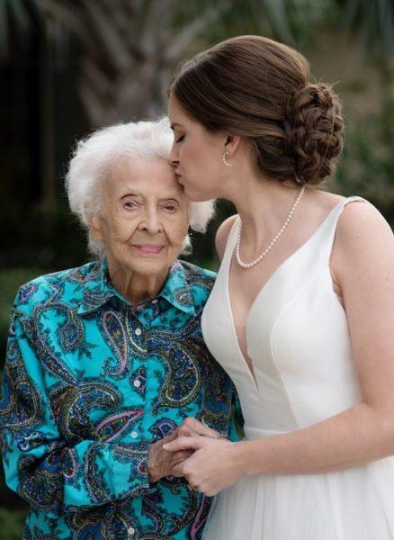 noiva surpresa avó