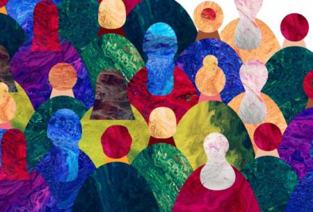 ilustração de várias pessoas
