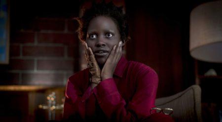 """Lupita Nyong'o como Adelaide Wilson no filme """"Nós"""" de jordan peele"""