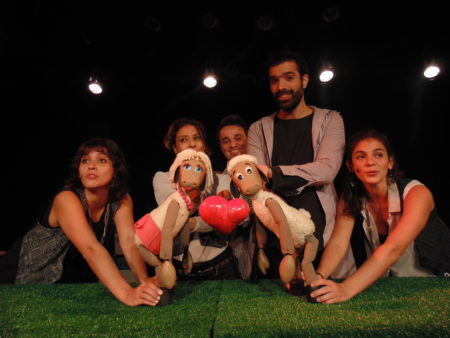 peça de teatro infantil ovelha negra do grupo Cia PeQuod