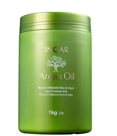 argan oil na embalagem verde