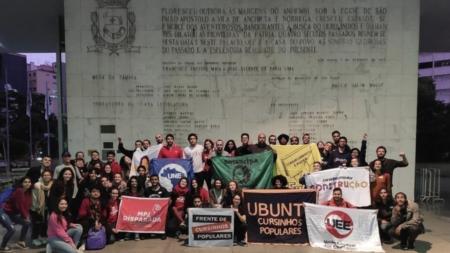 Estudantes comemoraram parte da luta vencida com a aprovação do PL na Câmara