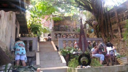 quintal do espaço cultural d'venetta