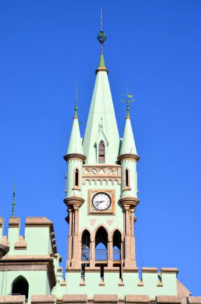 Torre do relógio do palacete da ilha fiscal