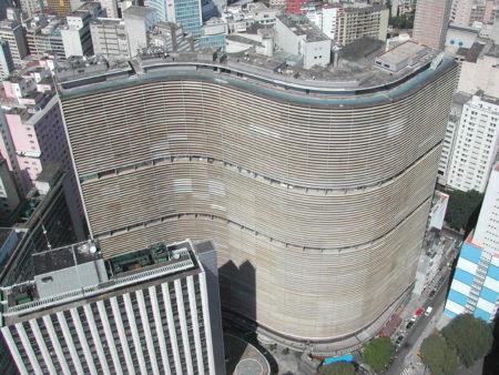 prédio do copan visto de cima