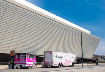 carretas de mamografia na Arena Corinthians