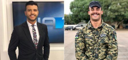 Jornal Nacional apresentador namoro militar