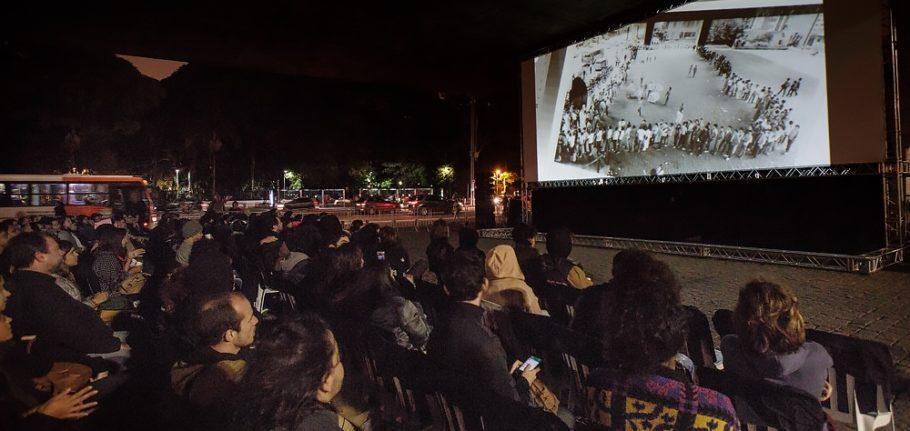Mostra Internacional de Cinema São Paulo no Vão Livre do MASP