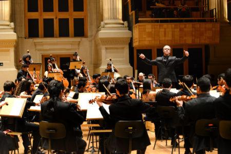 orquestra sinfônica heliópolis em apresentação