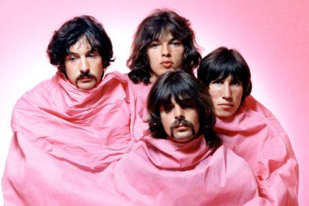 Pink Floyd é: Nick Mason, David Gilmour, Roger Waters, Richard Wright