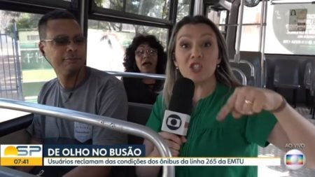 jornalista globo bronca passageira