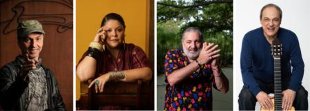 Zeca Baleiro, Fabiana Cozza, Moacyr Luz e Toquinho estão entre os cantores da série de shows Sarau do Elifas, no Sesc Pompéia