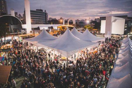 festival gastronômico no memorial da américa latina
