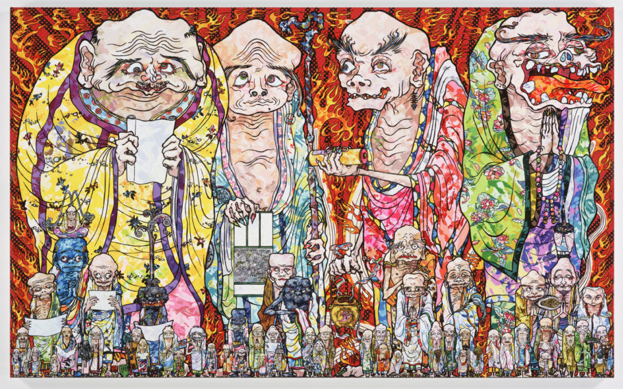 """Arhats: The Four Heavenly Kings"" (2016)"