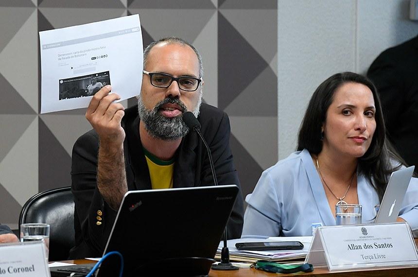 Bolsonarista Allan dos Santos diz que recebeu informação privilegiada da eleição nos EUA e vira piada