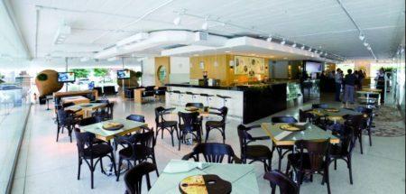mon café é uma das cafeterias em Curitiba dentro de centros culturais