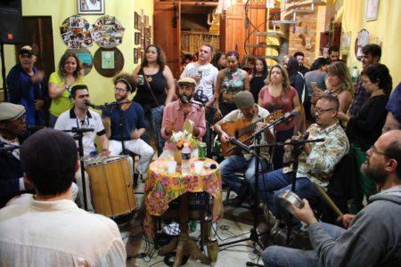 18 anos do Samba Sem Vintém na Casa mestre ananias